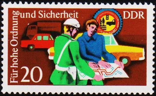 Germany(DDR). 1975 20pf  S.G.E1795 Unmounted Mint