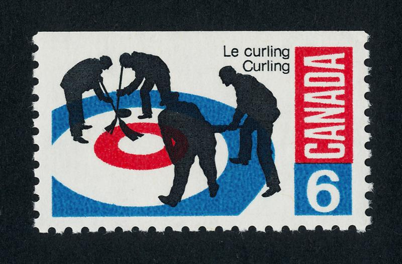 Canada 490i MNH Sports, Curling