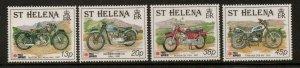 ST.HELENA SG598/601 1991 PHILANIPPON  MNH