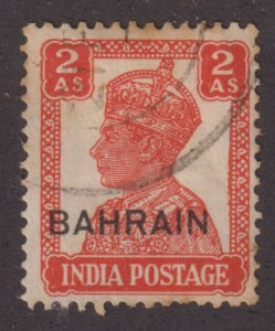 Bahrain 45 King George VI O/P 1943