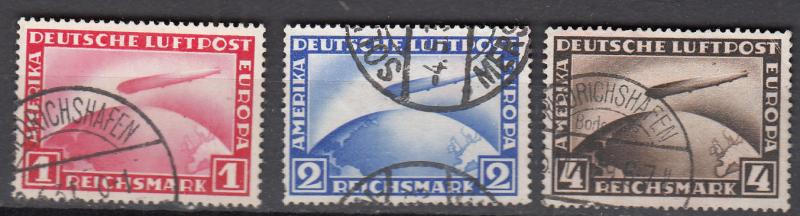 Germany - 1928/1931 Zeppelins Sc# C35/C37 (9068)