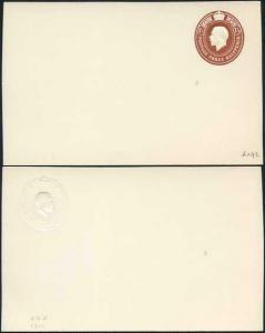 CSP86 KGV 1 1/2d Brown Foreign Card Stamp 32 Size F Mint