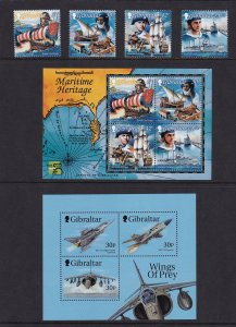 Gibraltar 1999,  MNH Year Set