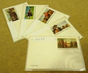 Collection of Mint USA Stamp Postcards Lot of 15 UX98 More