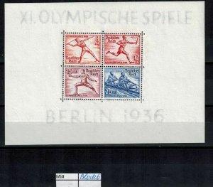 Deutschland Reich TR02 DR Mi Block 6 1941 Reich Postfrisch ** MNH