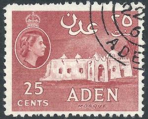 Aden, Sc #51, 25c Used