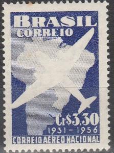 Brazil #836 F-VF Unused