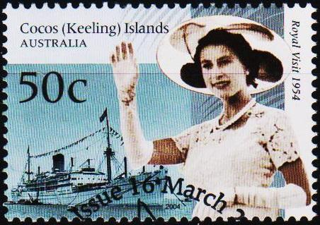 Cocos(Keeling)Islands. 2004 50c S.G.402 Fine Used