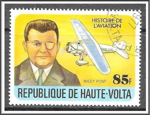 Upper Volta #464 History of Aviation CTO