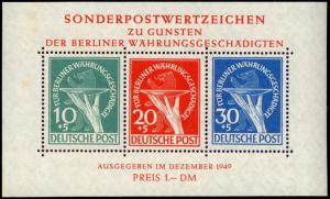 Germany- Berlin 9NB3a mnh