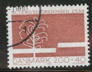 DENMARK  Scott B62 used Multiple Sclerosis stamp 1982