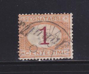 Italy J3 U Postage Due Stamp SCV $12.50