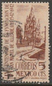 MEXICO 782, 5c San Miguel de Allende 400th Anniv Used. F-VF. (749)