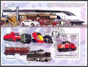 Guinea Bissau 2006 Trains S/S Used / CTO