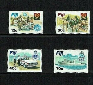 Fiji: 1982  Disciplined Forces, Mint never hinged