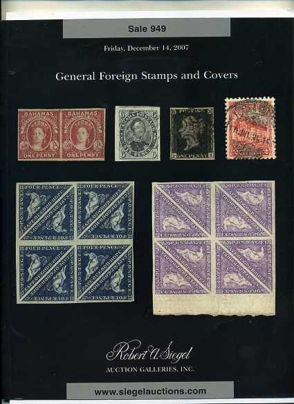 Siegel Foreign Stamp Sale