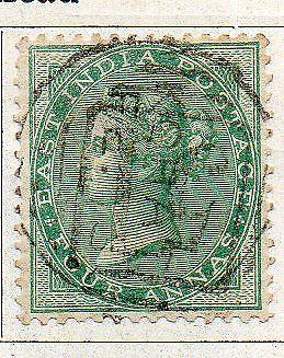 INDIA- 1865- sg no 64  w/m  elph  fine used cv 38.00 gbp ( app 3800.00rs )