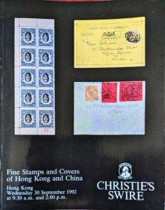 Auction Catalogue Frederick and Tomiko Bartlett TREATY PORTS & LOCAL POSTS CHINA