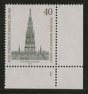GERMANY BERLIN  SC # 9N463   MNH