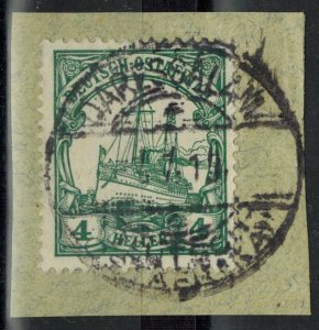 Colonies - German East Africa - Scott 32 on Piece