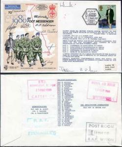C64c To London by Foot Messenger Signed Fg Off Brook 10 Foot Messengers (B)