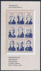 U.S. #2216-2219 MINT SET SCV $26.00 STARTS AT A LOW PRICE
