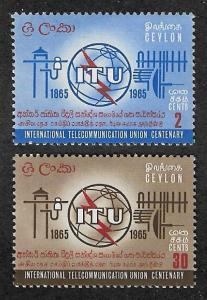 384-385,MNH Ceylon