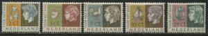 Netherlands Child Semi-Postal set of 5 mint o.g.
