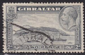 Gibraltar 98A USED 1932 Rock of Gilbraltar