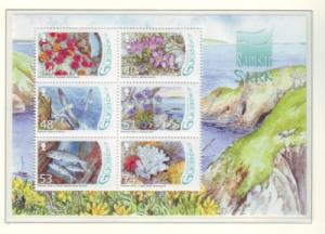 Guernsey Sc 977 2008 Wetlands stamp sheet mint NH