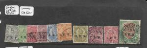INDIA IEF   (PP2409B) KGV SGE1/13 BASE OFFICE CANCELS  VFU
