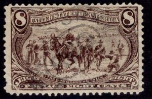 US Stamp #289 8c Trans-Mississippi USED SCV $47.50