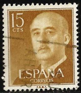 Spain 1954 Scott# 816 Used