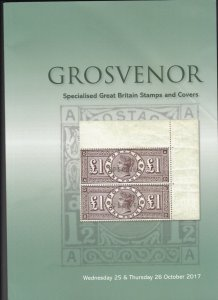 Grosvenor Auction Catalogue,Great Britain Stamps & Covers October 2017