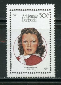 ANTIGUA  JUDY GARLAND STAMP  MINT NEVER HINGED