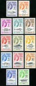 Tristan Da Cunha Stamps # 42-54 MLH VF Scott Value $69.50