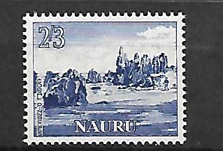 NAURU 55 MINT HINGED CORAL OF PINNACLES