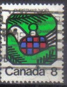 CANADA, 1973 used 8c. Christmas