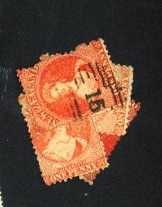 New Zealand #31 (4) Used Fine Cat $240