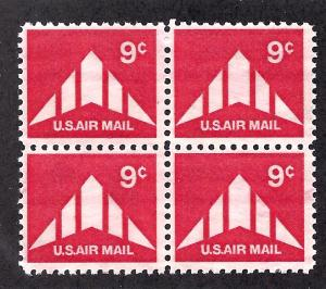 C77 Mint,OG,NH... Block of 4... SCV $1.00