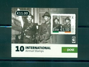 Ireland - Sc# 2115a. 2016 Easter Rising Booklet Used. First Day Cancels.