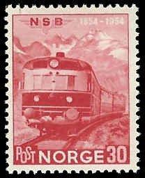 Norway - 332 - Unused - SCV-1.25