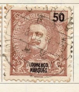 Lourenzo Marques 1903 Early Issue Fine Used 50r. 125029