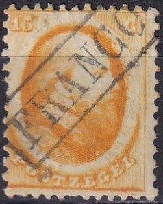 Netherlands #6 F-VF Used CV $100.00 (Z8202)