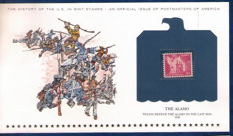 US Sc 1043  MNH,Og Encapsulated On A Commemorative Postal History Card VF/XF