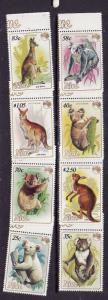 Niue-Sc#437-44-Unused NH set-Australian Animals-Koala-