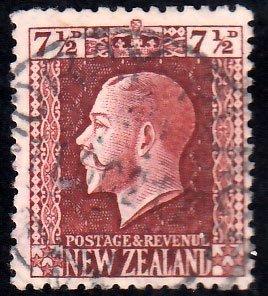 New Zealand Scott 155 Used.