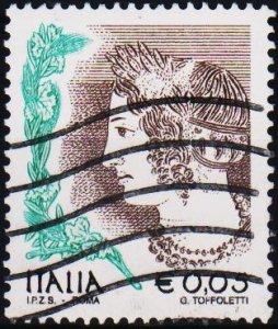 Italy. 2002 5c .G.2708 Fine Used