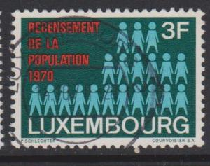 Luxembourg Sc#492 Used
