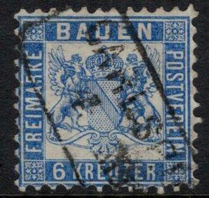 Baden #22  CV $27.50